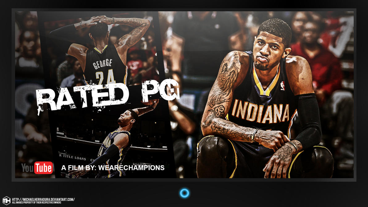 paul george rated pg postermichaelherradura on deviantart