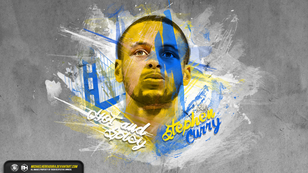 Popular Wallpaper Logo Stephen Curry - stephen_curry_hot_and_spicy_wallpaper_by_michaelherradura-d7gkl3h  Gallery_193264.jpg