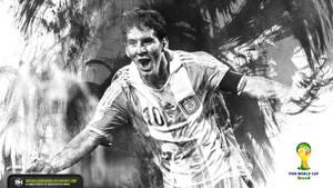 Lionel Messi FIFA World Cup Brazil wallpaper