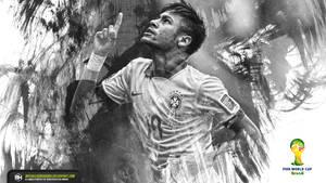 Neymar Junior Fifa World Cup Brazil wallpaper