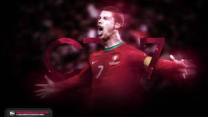 Cristiano Ronaldo CR7 Galaxy wallpaper by michaelherradura