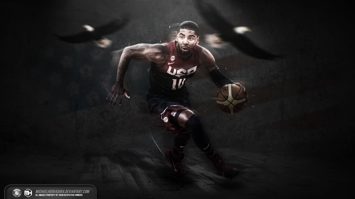 Kyrie Irving USA Wallpaper By Michaelherradura