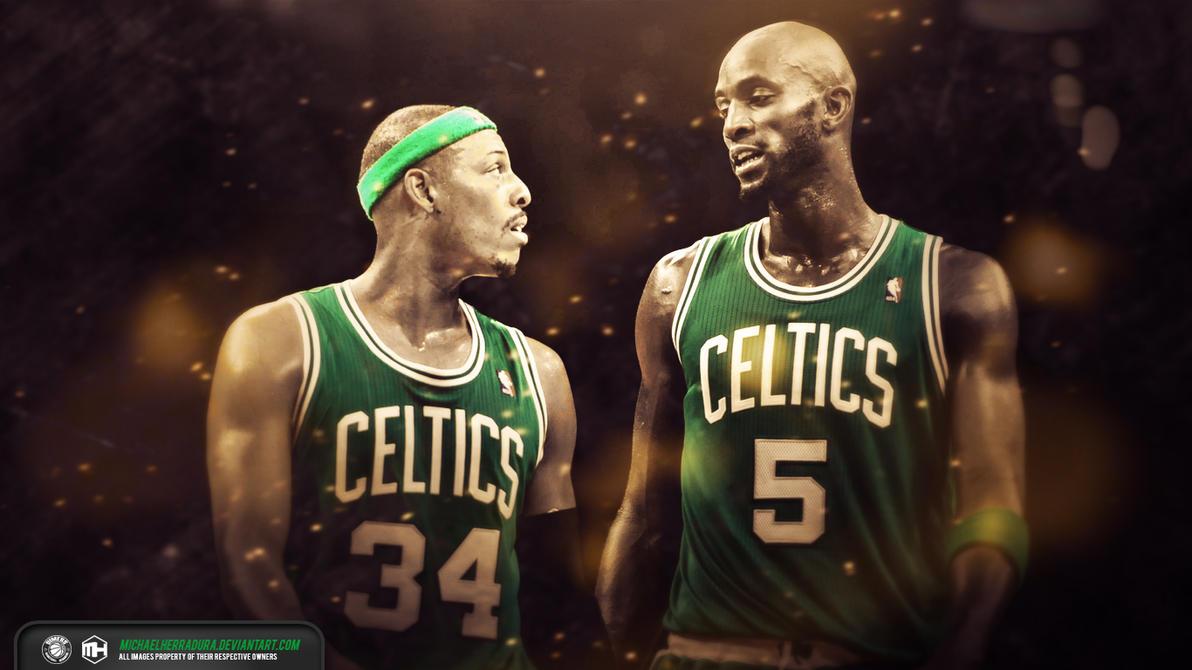 Paul Pierce Kevin Garnett Boston Celtics wallpaper by