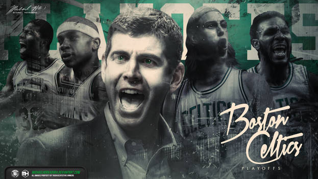 Boston Celtics Playoffs wallpaper
