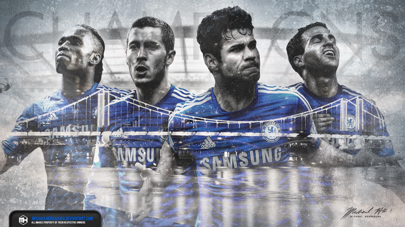 Chelsea FC Champions Wallpaper By Michaelherradura