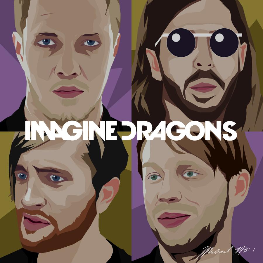 Download Next To Me Imagine Dragon Wapka: Imagine Dragons Vector Art By Michaelherradura On DeviantArt