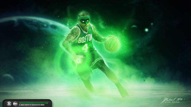 Isaiah Thomas Green Lantern wallpaper