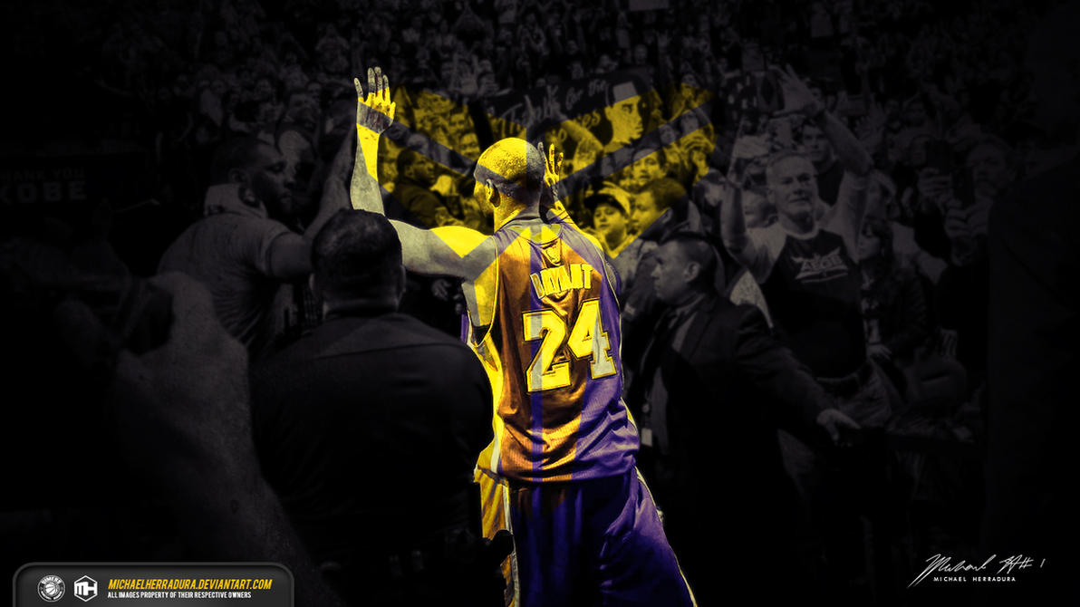 Farewell kobe bryant wallpaper by michaelherradura on deviantart farewell kobe bryant wallpaper by michaelherradura voltagebd Gallery