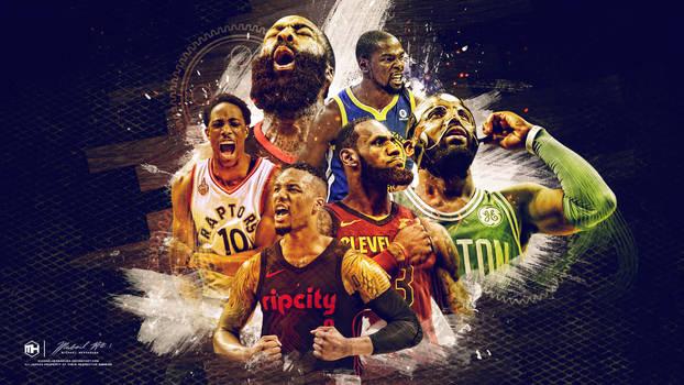 NBA East West wallpaper