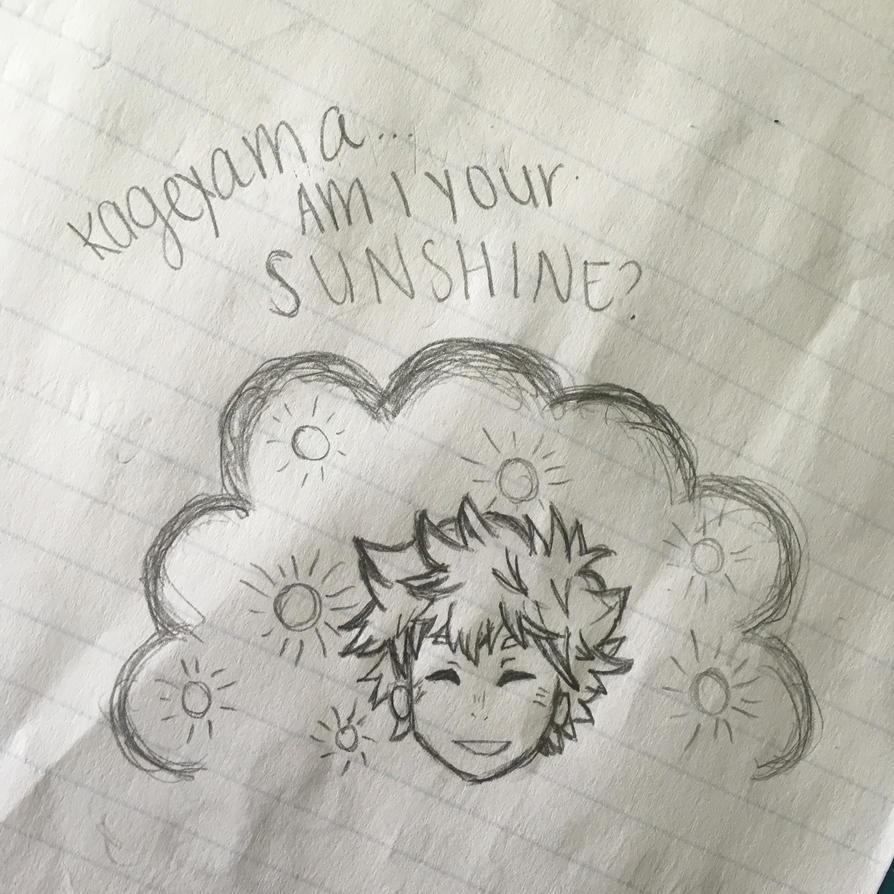 Kageyama... Am I your Sunshine? by cherryblossoms98
