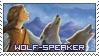 Wolf Speaker Stamp by KeikoGirl21588