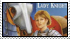 Lady Knight Stamp by CeruleanLegacy