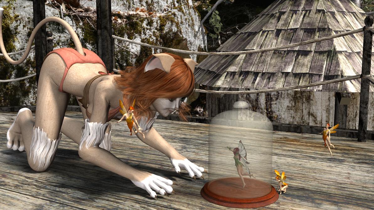 Fairy Dinner Time by revenger681