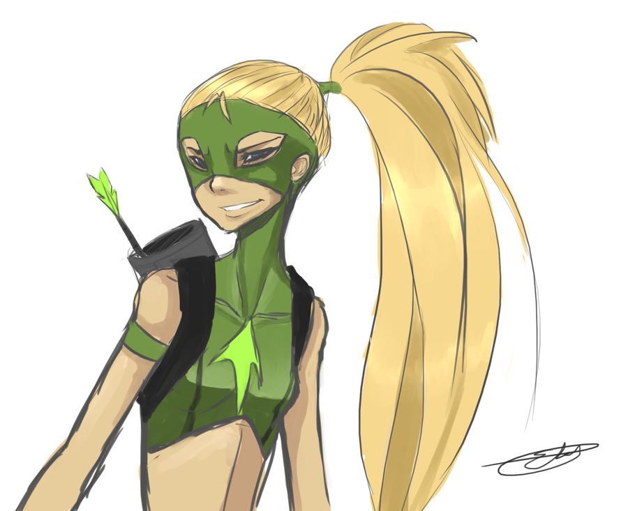 Artemis from Young Justice by  Young Justice Artemis And Wally