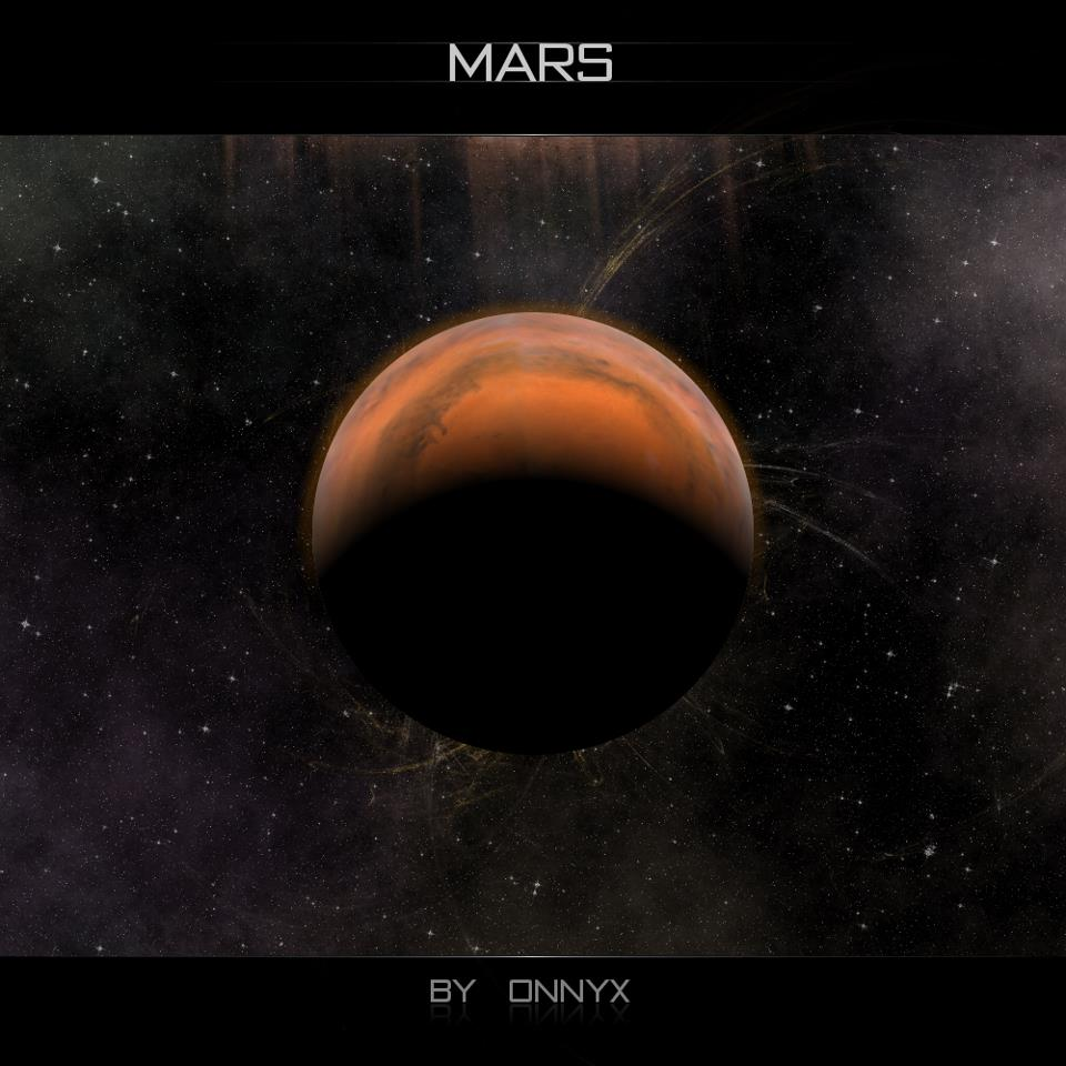 solar system earth and mars - photo #2