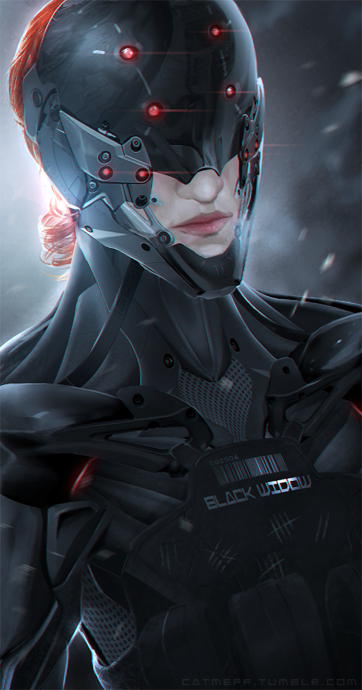 The BLack Widow by cat-meff