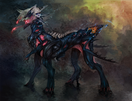 a puppy from hell by cat-meff