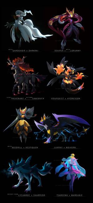 Pokemon Fusions 2017