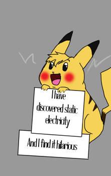 Pokemon Shamming Pikachu
