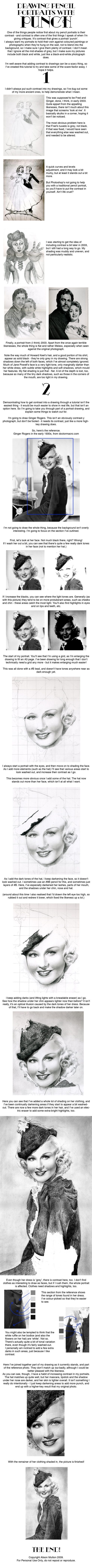Tutorial: Portraits with Punch by Alene
