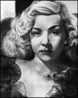 Gloria Grahame by Alene