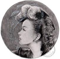 Kathryn Grayson Miniature by Alene