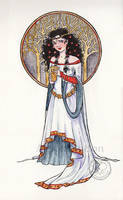 Snow White by Alene
