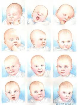 Alastair: 12 Month Portrait