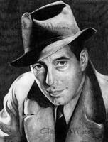 Humphrey Bogart by Alene