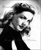 Lauren Bacall 2 by Alene