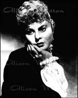 Ingrid Bergman 2 by Alene