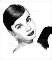 Leslie Caron 2 by Alene