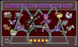 Magma Elites Trainer Card by Saidanmaster