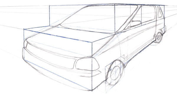 Car In Perspective By Demonspawn0809 On Deviantart