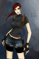 Claire Redfield by talaybaa