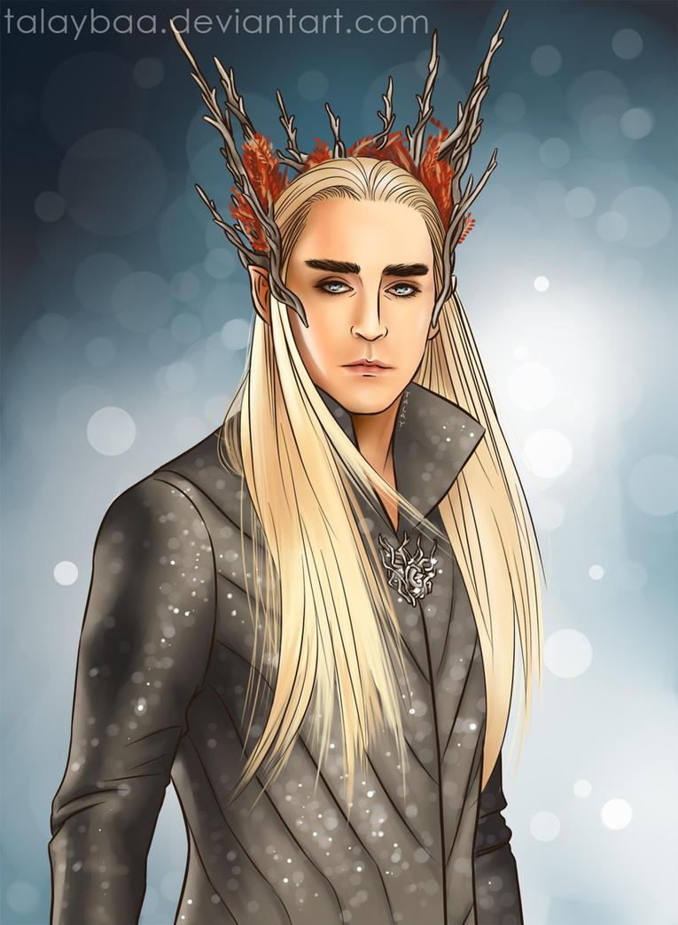The Elvenking by talaybaa