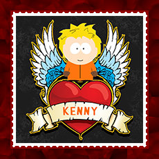 Little Kenny Stamp by Schneefuechsin
