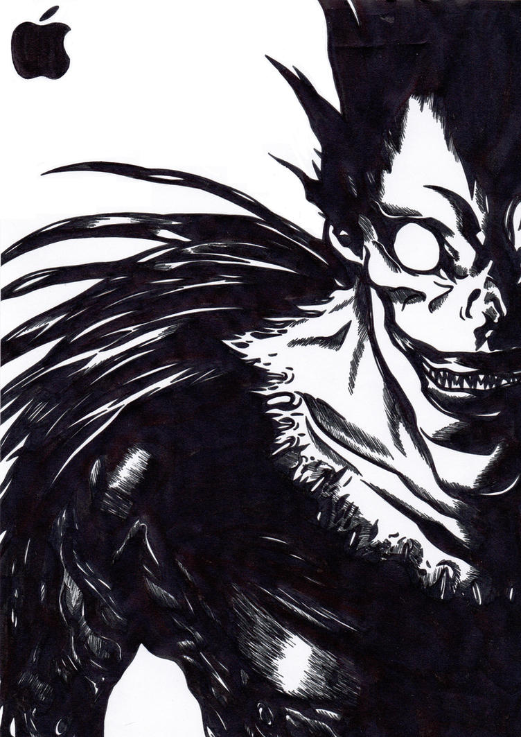 Ryuk - Applefan a lifetime by ShonaliKapoor