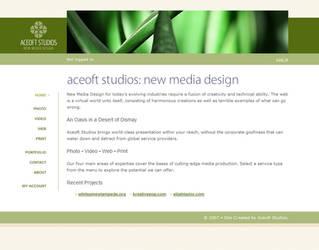 Aceoft Studios Web 2.0 by aceoft