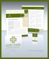 Aceoft Studios Re-branding by aceoft