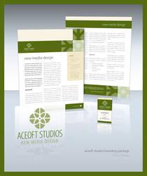 Aceoft Studios Re-branding