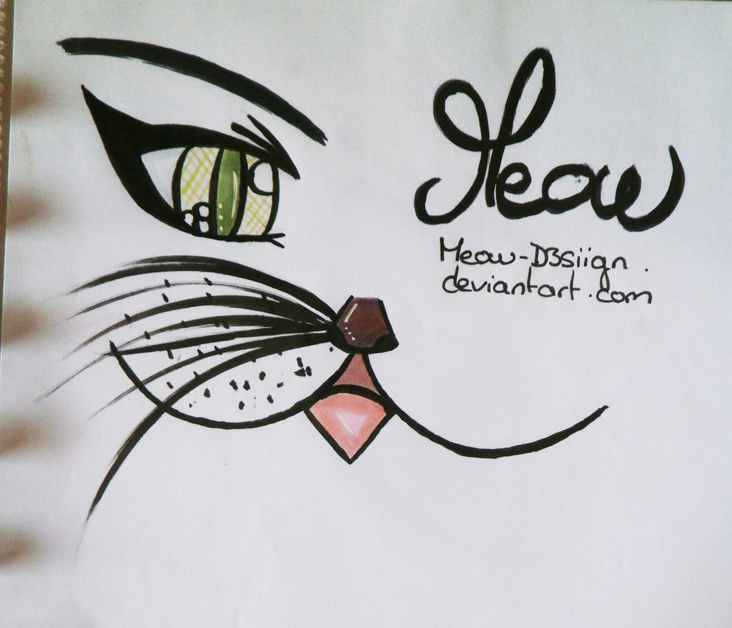 Copic draw 6 ideas test logo by meow d3siign on deviantart for Ideas of things to sketch