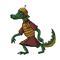 Roman Croc by Ravenhoof