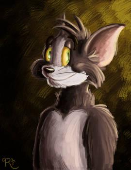 FANART   Tom Cat Portrait
