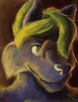 FANART | Odin Wolf Portrait