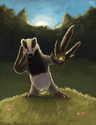 COMMISSION  Pel the Badger