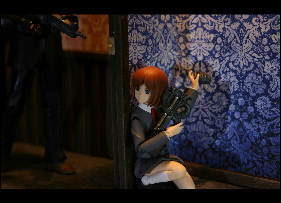 Henrietta the Gunslinger Girl by bob-the-odd