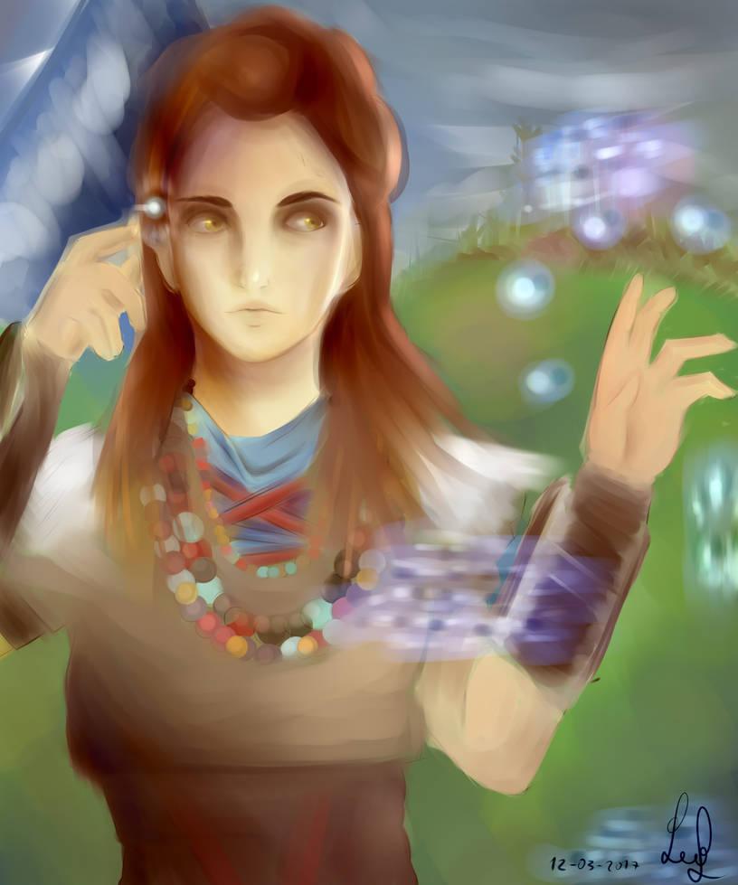 Horizon Zero Dawn Fan Art Aloy By Leoarte1 On Deviantart
