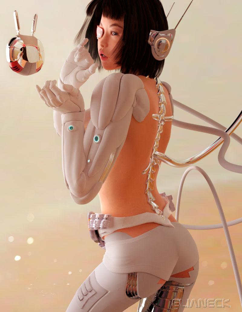 cyber Yukimi by elianeck