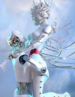 Cyber cinderella.. by elianeck